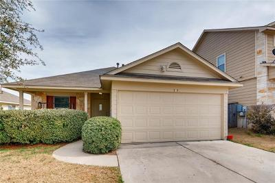 Hutto Single Family Home For Sale: 302 Fistral Dr