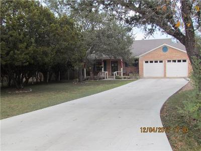 Wimberley TX Single Family Home For Sale: $227,000