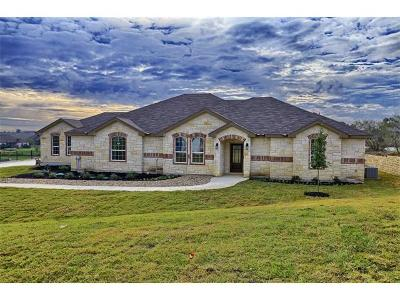 Hutto Single Family Home For Sale: 416 Lookout Cir