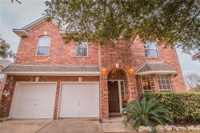 Cedar Park Single Family Home For Sale: 1006 Shadow Valley Cv