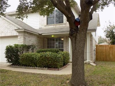 Round Rock Single Family Home For Sale: 612 Reggie Jackson Trl