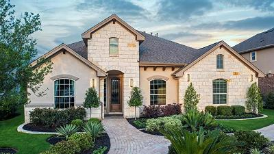Round Rock Single Family Home For Sale: 4837 Terraza Trl