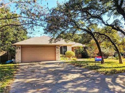 Cedar Park Single Family Home Pending - Taking Backups: 623 Blue Oak Cir