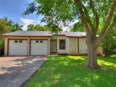 Round Rock Single Family Home For Sale: 1908 Greenhill Dr