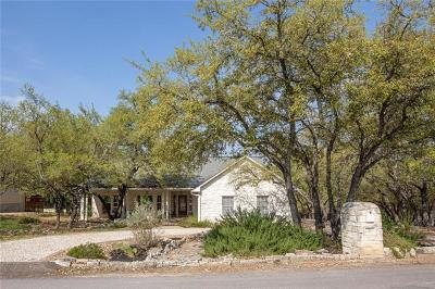 Wimberley Single Family Home Pending - Taking Backups: 33 Crazy Cross Rd