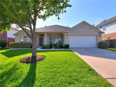 Pflugerville Single Family Home For Sale: 1208 Canyon Maple Rd