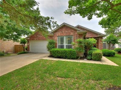 Round Rock Single Family Home Pending - Taking Backups: 4210 Flat Stone Ct