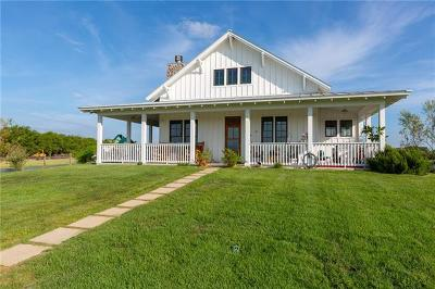 Manor Single Family Home For Sale: 8201 Cele Rd #A
