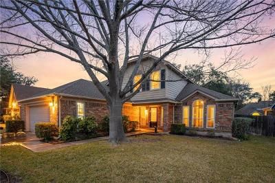 Round Rock Single Family Home For Sale: 1118 Oaklands Dr