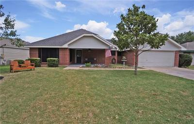 Hutto Single Family Home For Sale: 108 Creekside Dr