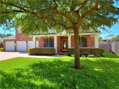 Cedar Park Single Family Home Pending - Taking Backups: 1700 Cattle Dr