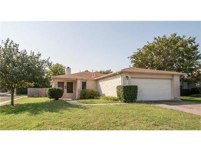 Cedar Park Single Family Home Pending: 2100 Parksville Way