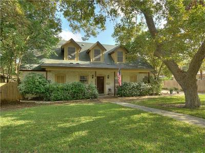 Austin Single Family Home For Sale: 4921 Bull Creek Rd
