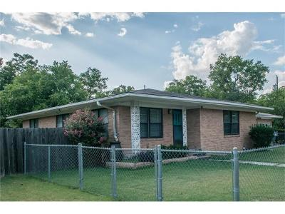 Williamson County Single Family Home Pending - Taking Backups: 206 S Guadalupe St