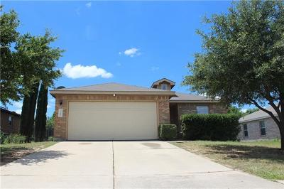 Leander Single Family Home For Sale: 209 Mesa Dr