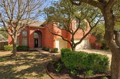 Cedar Park Single Family Home For Sale: 706 Jagged Rock