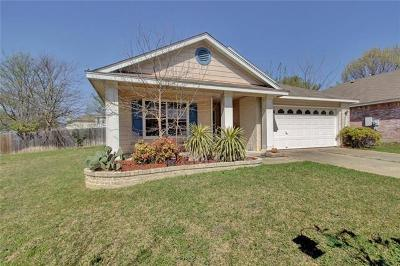Pflugerville Single Family Home For Sale: 17708 Cahir Glen Cv