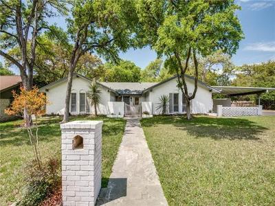 Austin Single Family Home For Sale: 8108 Hillrise Dr