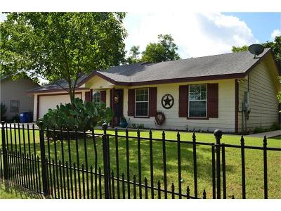 Williamson County Single Family Home Pending - Taking Backups: 600 Mesquite St