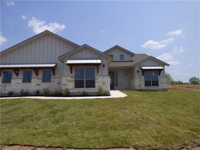 Burnet County Single Family Home For Sale: 124 Floyds