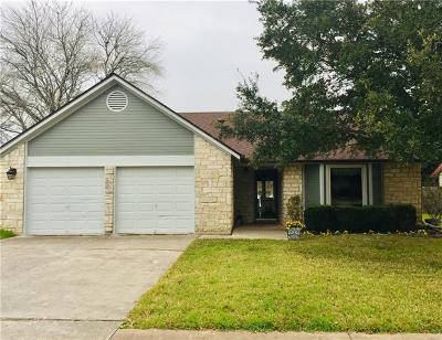 Pflugerville Single Family Home Pending - Taking Backups: 201 Applewood Dr