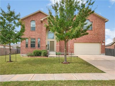 Round Rock Single Family Home For Sale: 19908 Mid Bark Pass