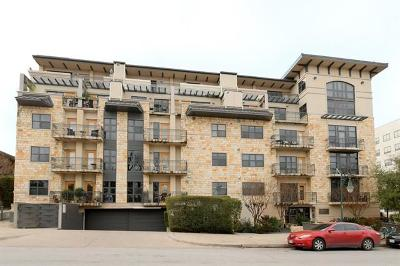 Austin Condo/Townhouse For Sale: 1812 West Ave #403