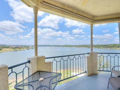 Lago Vista Condo/Townhouse For Sale: 3404 American Dr #3318