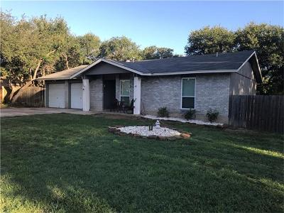 Leander Single Family Home Pending - Taking Backups: 303 Apache Trl