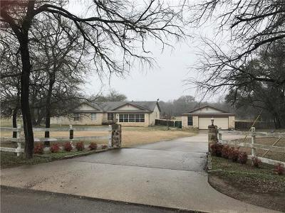 Liberty Hill Single Family Home For Sale: 50 S Bear Creek Rd