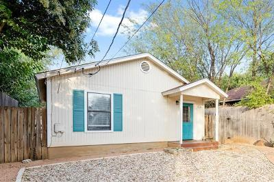 Austin Single Family Home For Sale: 912 1/2 E 50th St