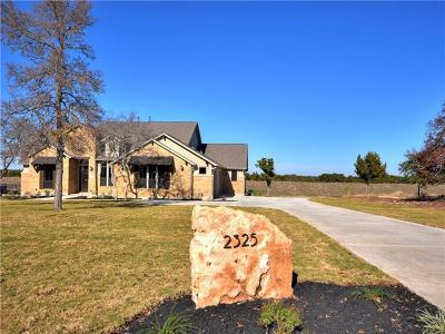Leander Single Family Home For Sale: 2325 High Lonesome