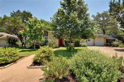 Austin Single Family Home Pending - Taking Backups: 4610 Trail Crest Cir