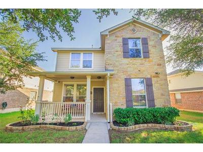 Cedar Park Single Family Home For Sale: 1805 Copper Breaks Ln