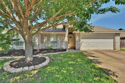 Round Rock Single Family Home For Sale: 610 Sweetgum Ln