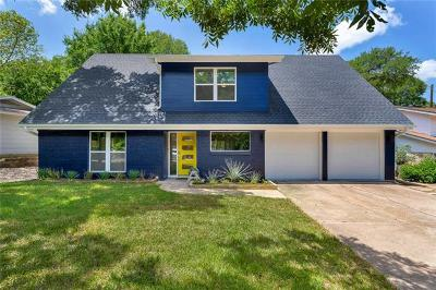Austin Single Family Home For Sale: 1705 Deerfield Dr