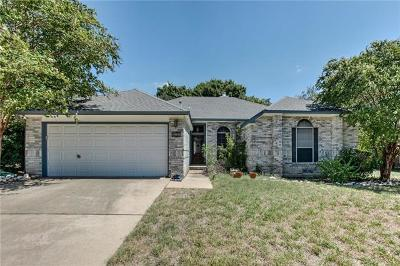 Cedar Park Single Family Home For Sale: 1211 Paint Brush Trl