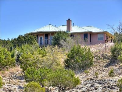 Dripping Springs Single Family Home For Sale: 10700 Bubbas Blf