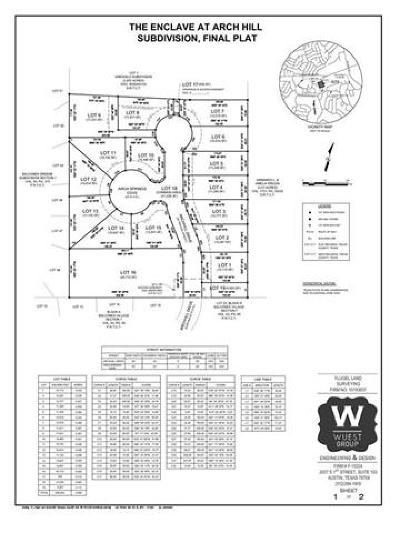 Residential Lots & Land For Sale: 9901 Arch Springs Cv