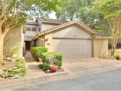 Travis County Condo/Townhouse For Sale: 4114 Creek Ledge #106