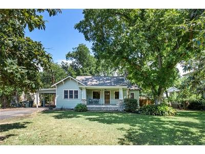 San Marcos Single Family Home Pending - Taking Backups: 737 W San Antonio St