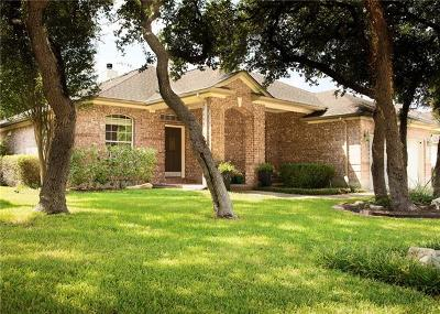 Cedar Park Single Family Home For Sale: 1305 Pagedale Dr