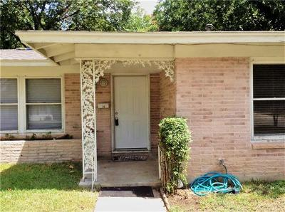 Austin Single Family Home For Sale: 1708 Princeton Ave