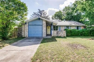 Travis County Single Family Home For Sale: 8415 Kimble Cv