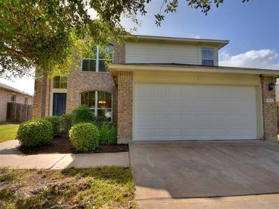 Pflugerville Single Family Home For Sale: 14613 Ginseng Cv
