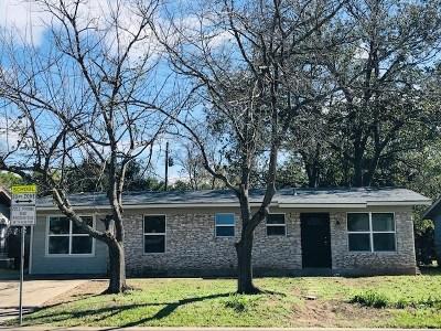Austin TX Single Family Home For Sale: $259,900