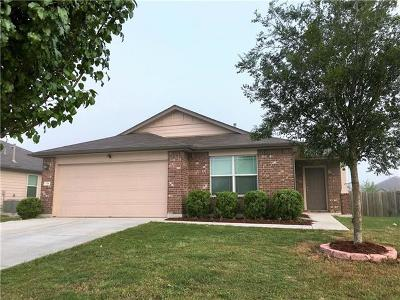 Kyle Single Family Home For Sale: 158 Voyager Cv