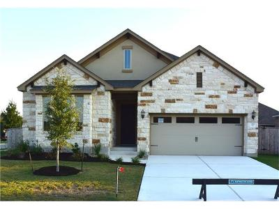 Round Rock Single Family Home For Sale: 212 Blue Spruce Way