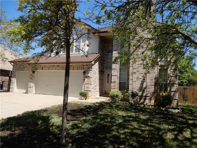 Cedar Park Single Family Home For Sale: 1119 Paint Brush Trl