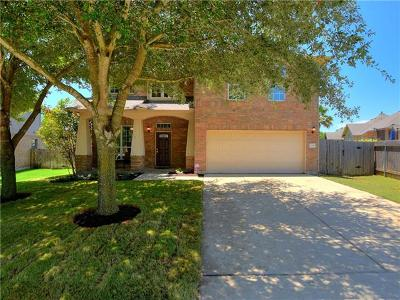 Pflugerville Single Family Home Pending - Taking Backups: 2405 Pauma Valley Way